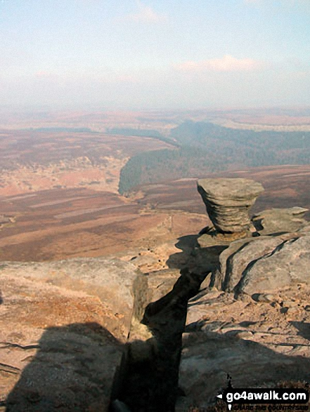 The Ashop Valley from Fairbrook Naze (Kinder Scout)