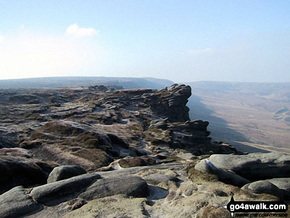 The Edge (Kinder Scout) from Fairbrook Naze (Kinder Scout)