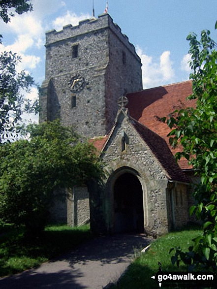 Burpham church