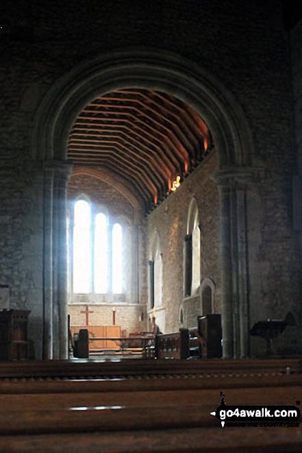 Inside Bosham Church