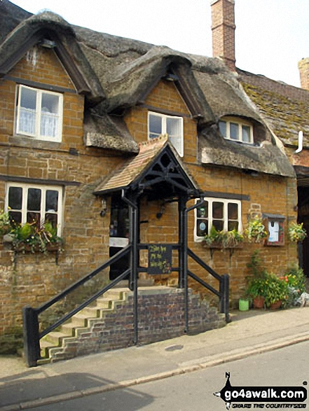 Great Brington's famous Althorp Coaching Inn - The Fox and Hounds