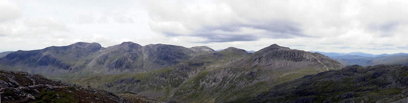 *The Scafell Ridge from Crinkle Crags (Long Top)