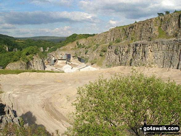 Dalton Quarry in Middleton Dale near Stoney Middleton
