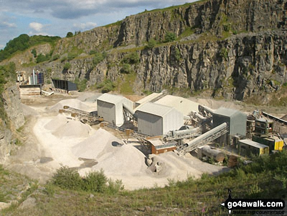 Dalton Quarry in Middleton Dale near Stoney Middleton