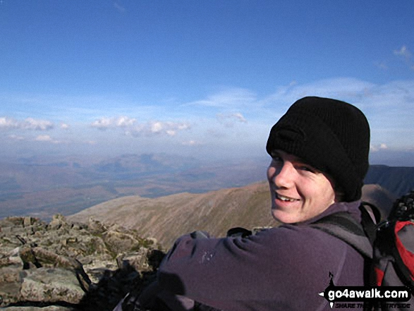 My son Daniel on Ben Nevis