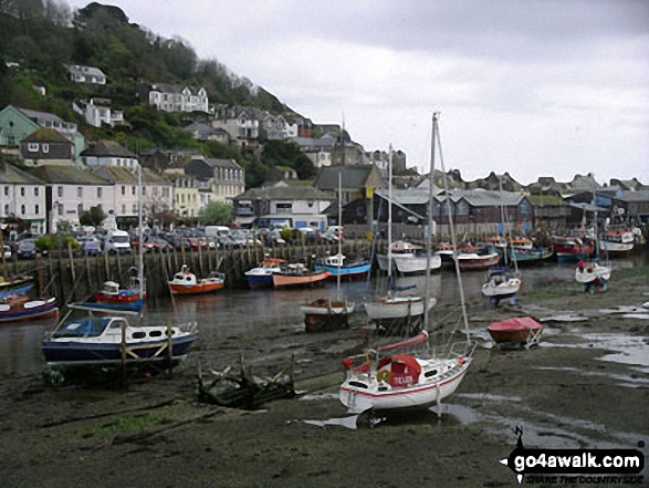 Looe Harbour at low water