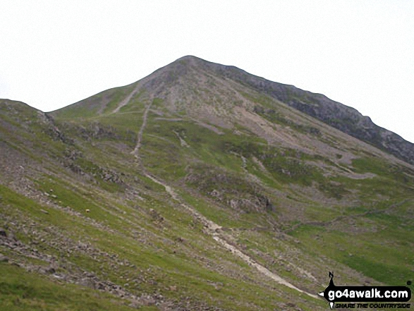 Seat, Gamlin End and High Crag from Scarth Gap