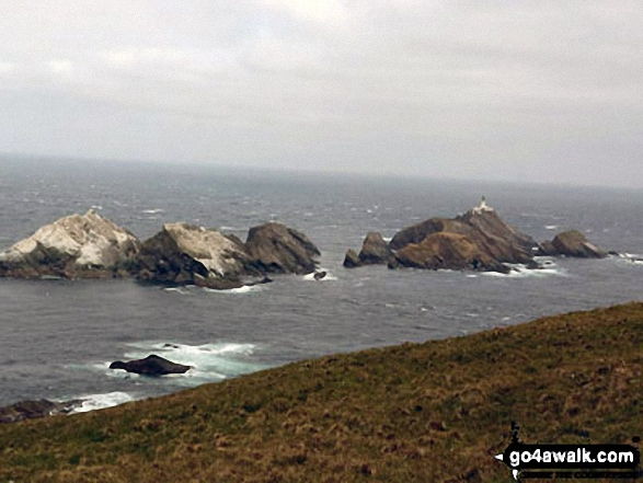 Muckle Flugga from Herma Ness, Unst