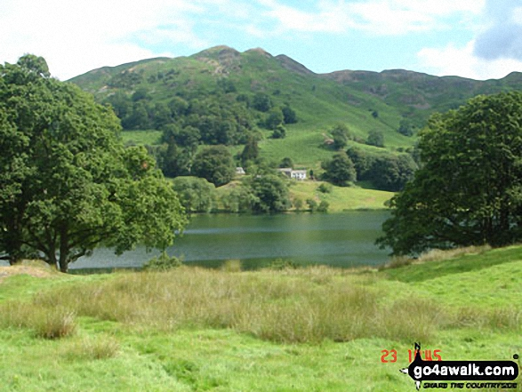 Loughrigg Fell and Loughrigg Tarn