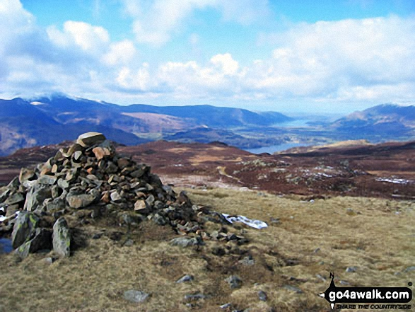 High Seat (Ashness Fell) Summit Cairn