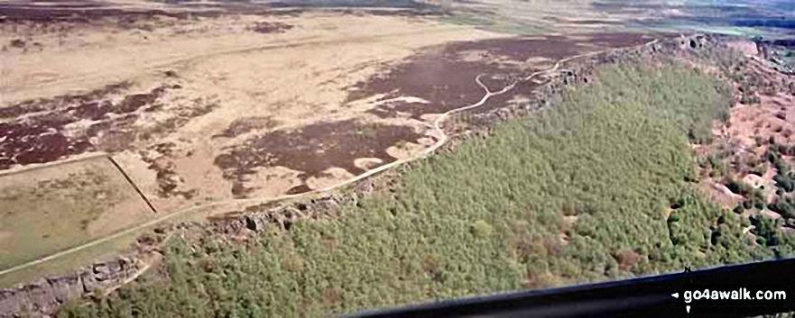 *Aerial Panorama of Stanage Edge
