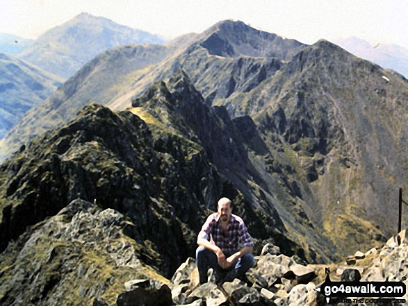 Aonach Eagach, Glen Coe - What a ridge walk - the best in Britain