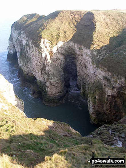 Walk ey112 Flamborough Head and North Landing from South Landing - Cradle Head, Flamborough Head