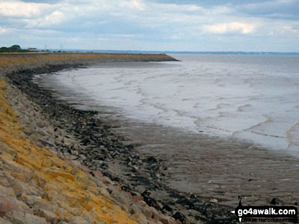 The Goldcliff Seawall