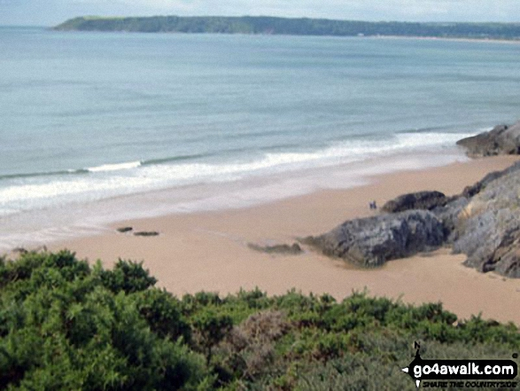 Threecliff Bay, The Gower Peninsula
