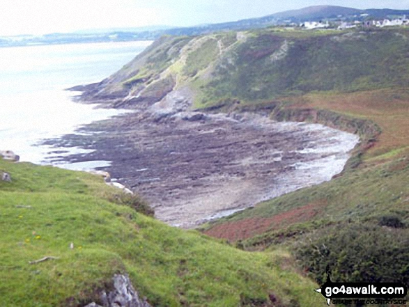 Shire Combe from High Pennard, Pwlldu Head, The Gower Peninsula
