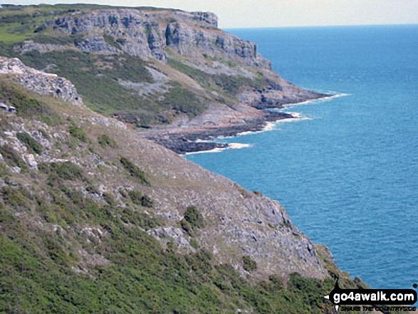 Pwlldu Bay from Pwlldu Head