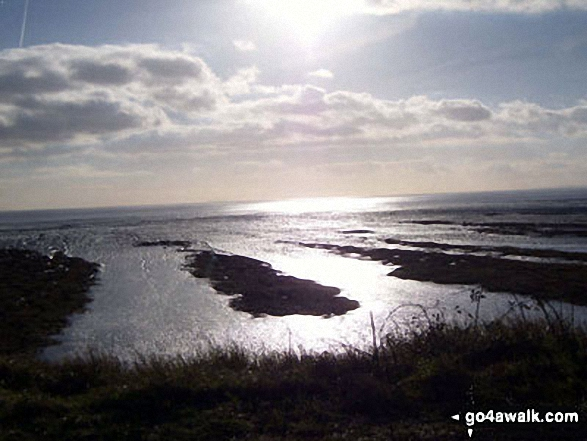 The Severn Esturay from Newport Wetlands Reserve, Uskmouth, Newport