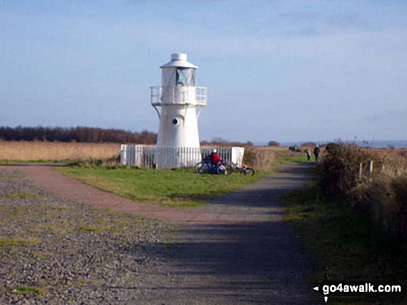 East Usk Lighthouse, Newport Wetlands Reserve, Uskmouth, Newport