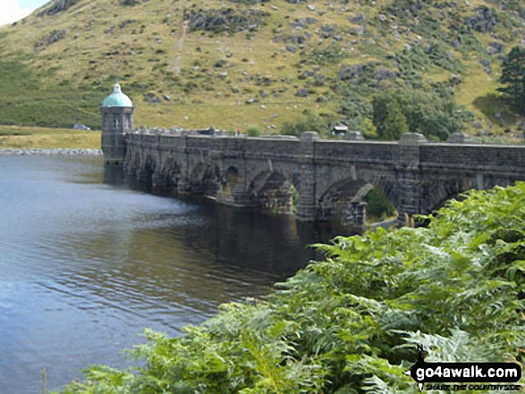 Caban-coch Reservoir Dam