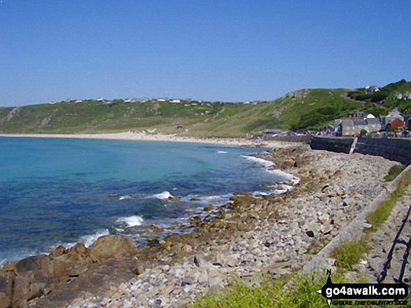 Walk co115 Sennen Cove from Land's End - Sennan Cove and Whitesand Bay, Land's End