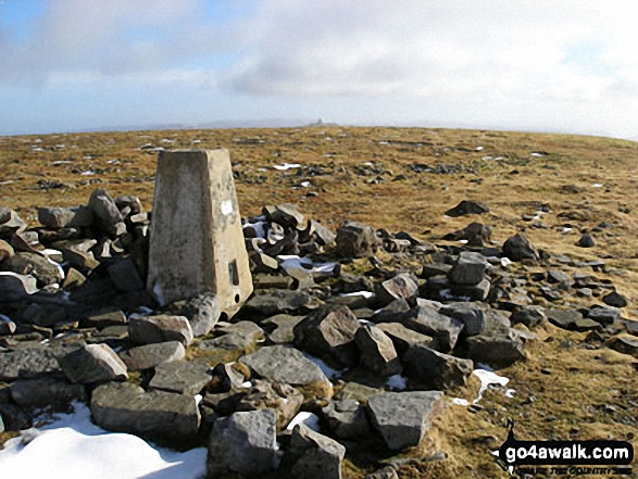 The summit of Cross Fell,  the highest point in The North Pennines Photo: Ryan Pearson