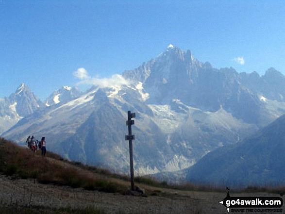 The Swiss Alps from around Chamonix
