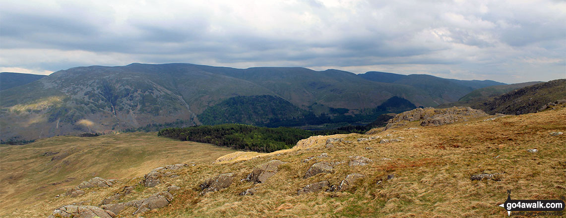 The view from the summit of Bell Crags (Watendlath Fell)