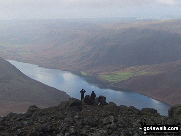 Walk Sca Fell walking UK Mountains in The Southern Fells The Lake District National Park Cumbria    England