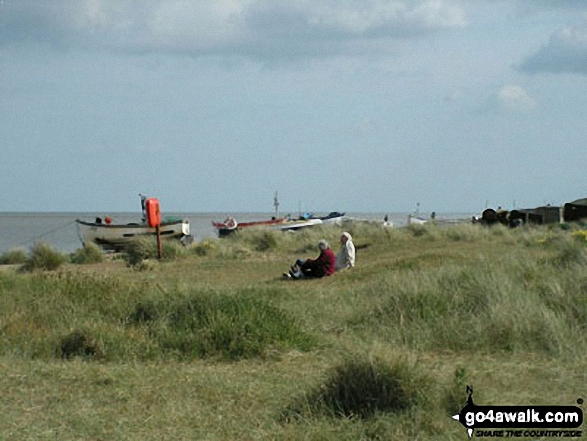 Boats at Sizewell Beach, Minsmere Haven