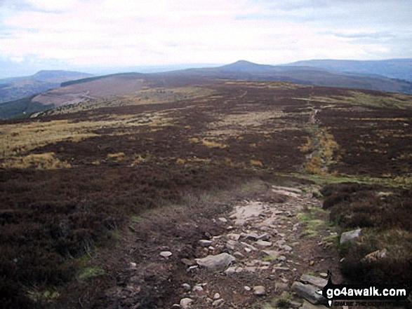 Waun Fach from the Pen Twyn Mawr ridge