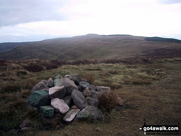Pen Twyn Mawr summit cairn