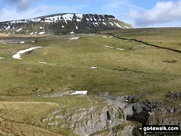 Pen-y-ghent from Hull Pot