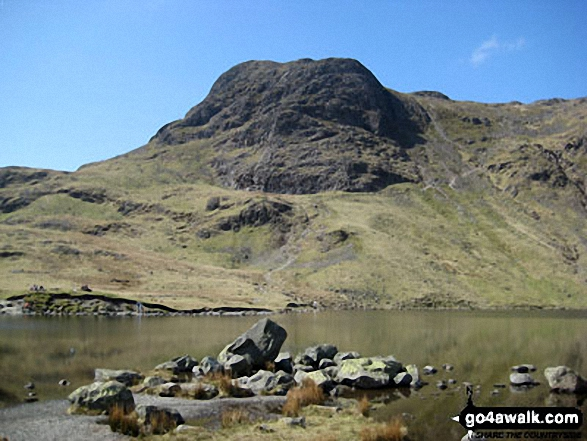 Harrison Stickle from Stickle Tarn (The Langdale Pikes)