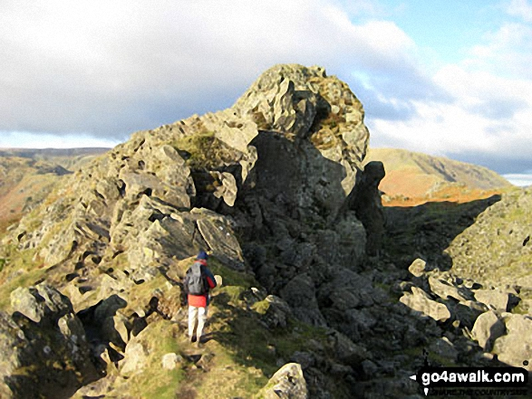 On Helm Crag summit