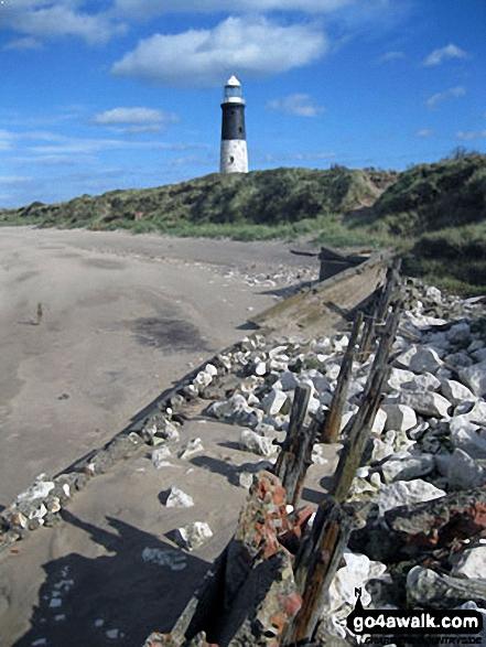 The newer lighthouse, Spurn Head