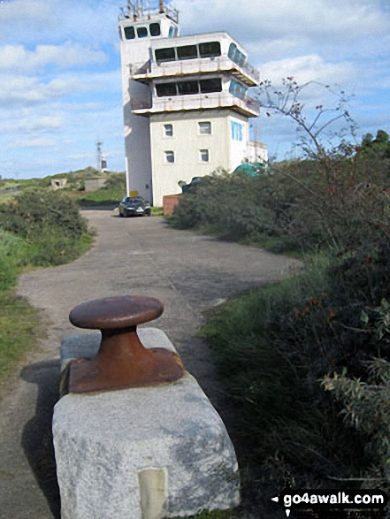 The current lighthouse on Spurn Head