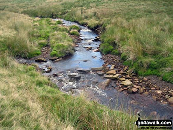 Crowden Great Brook near Sliddens