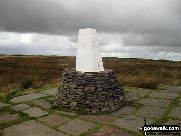 Black Hill (Soldier's Lump) summit trig point