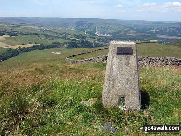 Durham Edge (Abney Moor) summit Trig Point