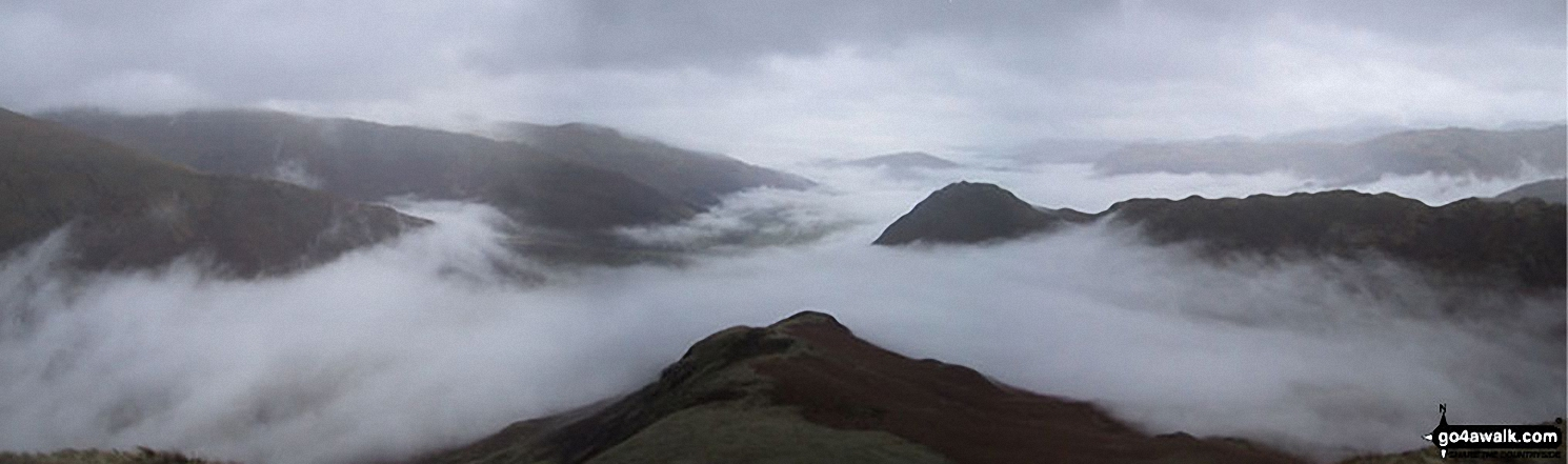 Looking South to Grasmere from Steel Fell (Dead Pike)
