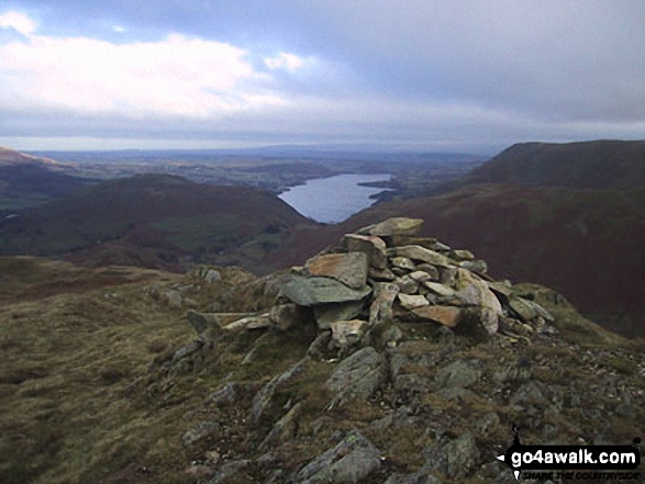 Walk Beda Head (Beda Fell) walking UK Mountains in The Far Eastern Fells The Lake District National Park Cumbria    England