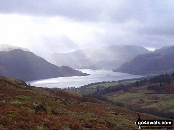 Ullswater and Patterdale from Green Hill (Gowbarrow Fell)