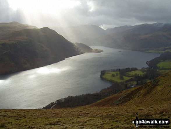 Ullswater and Patterdale from Gowbarrow Fell (Airy Crag)