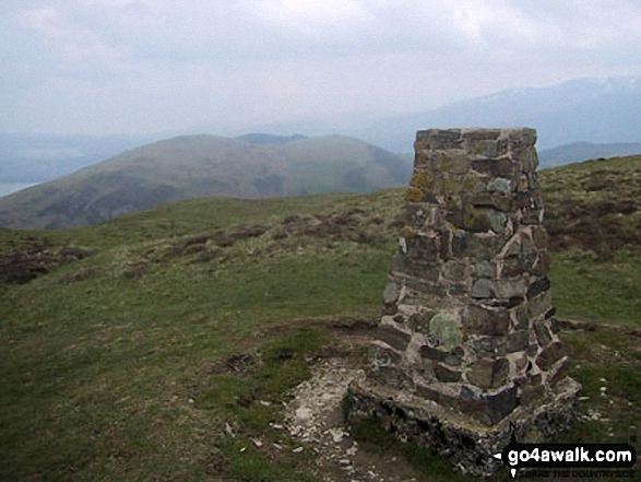 Ling Fell (Wythop) summit trig point