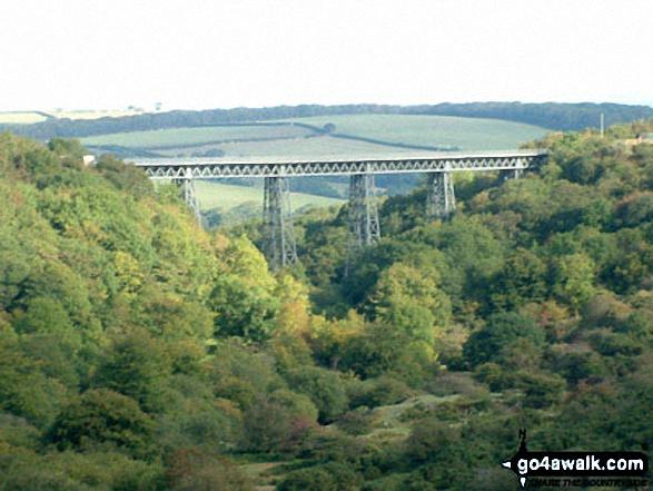 Meldon Viaduct from Meldon Reservoir