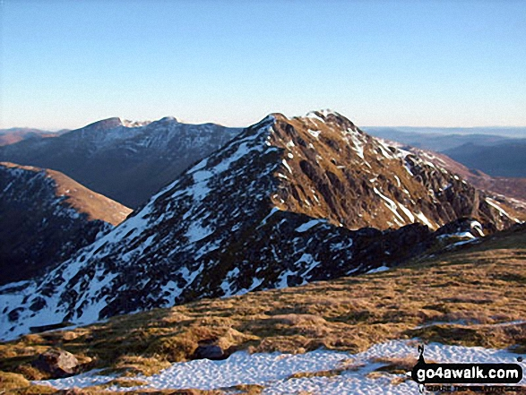 Sgurr nan Ceathreamhnan (West Top) Photo by Stephen Middlemiss