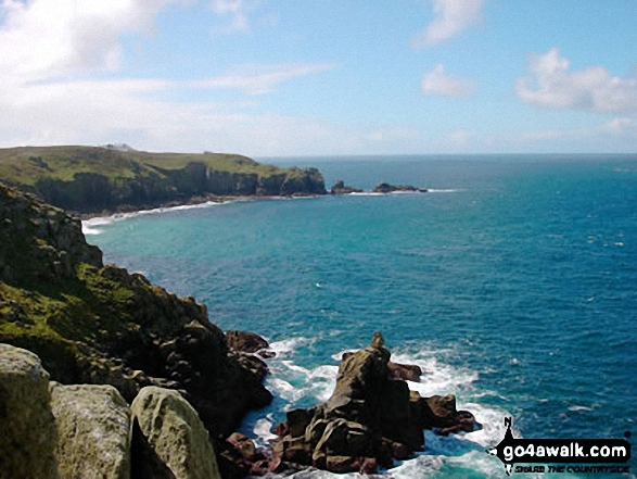 The South West Coast Path, Land's End