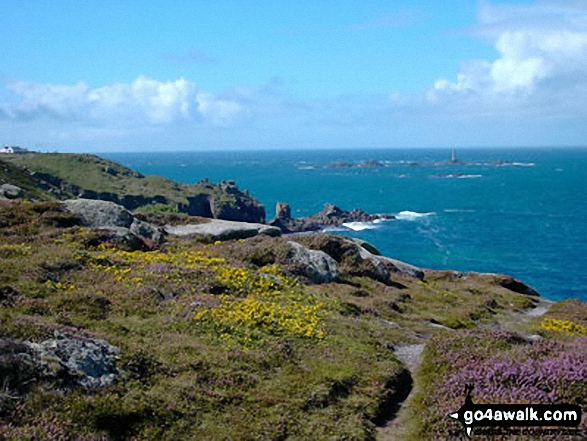 Carn Kez on The South West Coast Path at Land's End