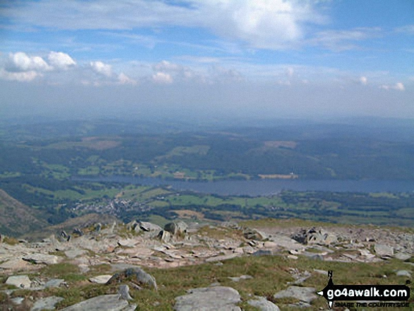 Coniston Water from The Old Man of Coniston